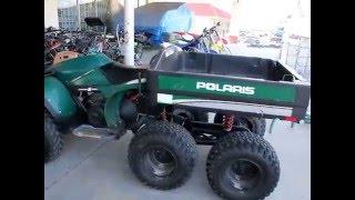 7. 92 Polaris Big Boss 6x6 6 wheel 2 cycle 250 cc
