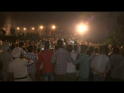 Indien: Schweres Zugunglück bei Hindu-Feierlichkeiten