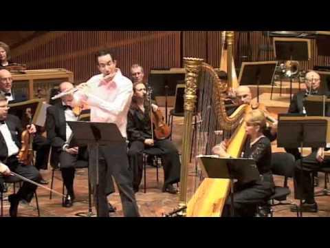 Boaz Meirovitch & Julia Rovinsky - Mozart Flute & Harp Concerto Israel Philharmonic Orchestra