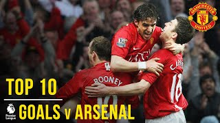 Video Manchester United's Top 10 Goals v Arsenal (Premier League) | Manchester United MP3, 3GP, MP4, WEBM, AVI, FLV Agustus 2019