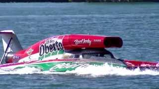 Oh Boy! Oberto Hydroplane at 2013 APBA Gold Cup Detroit
