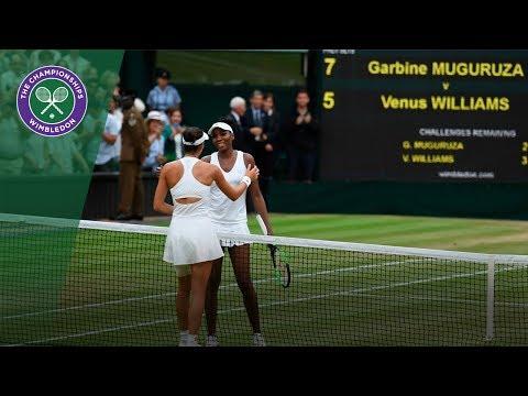 Garbiñe Muguruza v Venus Williams highlights - Wimbledon 2017 ladies' singles final - Thời lượng: 2:47.