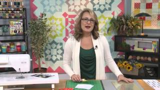 """My First Quilt - Episode 10 - How to Make a Quilt with Pre-cuts: 10\"""" Squares"""