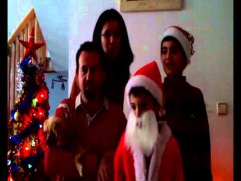 ...Es el mensaje feliz de la familia Garcia