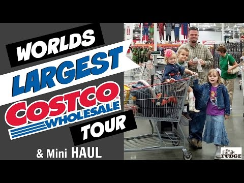 The LARGEST #Costco in the WORLD! || FULL TOUR || & #HAUL