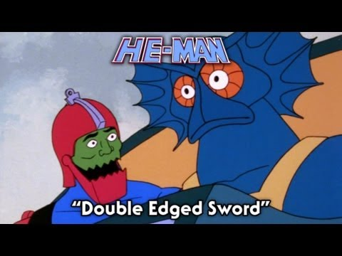 He Man - Double Edged Sword - FULL episode (видео)