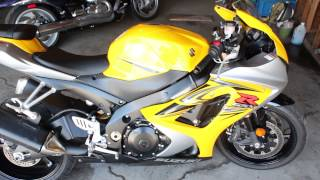 8. 2007 SUZUKI GSXR 1000 FOR SALE