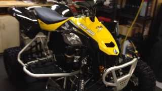 9. 2014 Can Am Ds 450x mx Walk Around