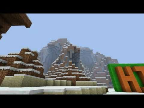 Mad World MineCraft Typography