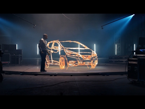 The all-new Nissan Micra and Stephen Wiltshire