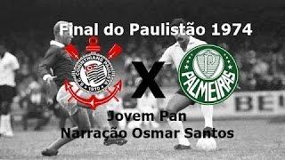 Gol do jogo Palmeiras 1 x 0 Corinthians, realizado em 22 de dezembro de 1974 e válido pelo segundo jogo final do Paulistão daquele ano.