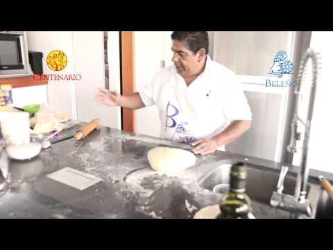 Pizza con Harina Preparada Centenario.