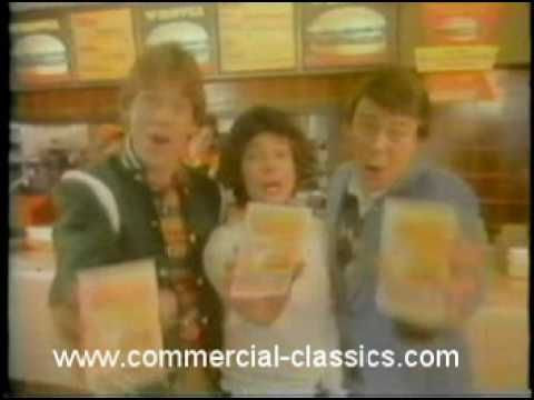 Burger King Whopper classic tv commercial 1978