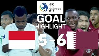 Video RESPECT! GARUDA NUSANTARA (GOAL QATAR VS INDONESIA AFC U-19) MP3, 3GP, MP4, WEBM, AVI, FLV Oktober 2018