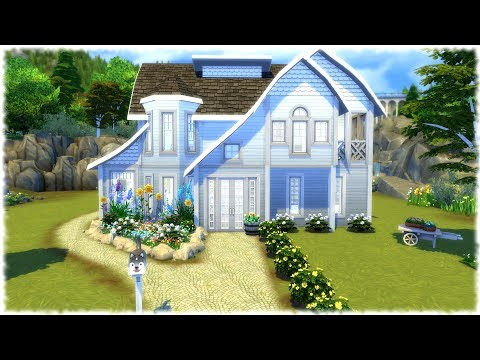 The Sims 4: Speed Build // FAMILY HOUSE NO CC