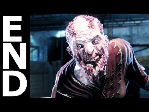 Dying Light The Following BAD ENDING / Final Boss Fight - Kill The Mother And Take The Vials