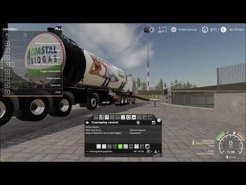 Fliegl Semi Roadtrain Biogas Trailer v1.5