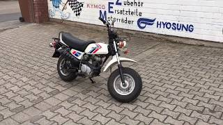 Something small funny between. Honda CY 50 with original 23 km.