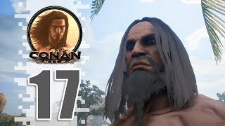 NOT A ROCK! - EP17 - Conan Exiles (Removing The Bracelet)