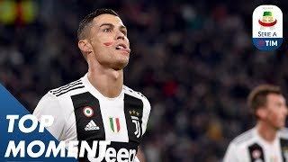 Cristiano Ronaldo Puts Juve In Front | Juventus 2-0 Spal | Top Moment | Serie A