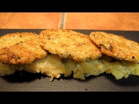 Hamburguesas de avena, receta vegana