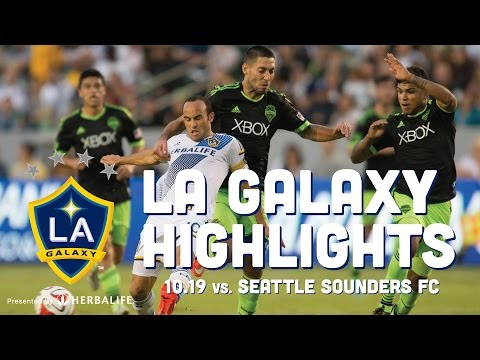 Video: LA Galaxy vs Seattle Sounders 10.19.14   HIGHLIGHTS