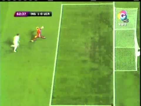 Eurocopa 2012: Polémico gol NO VALIDADO a Ucrania