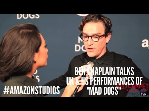 Ben Chaplin talks about UK & US versions of Mad Dogs at Amazon Premiere Screening #MadDogs