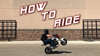 8. How to Ride a Honda Grom | Beginners Guide