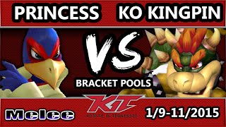 KO Kingpin playing Bowser and Pichu