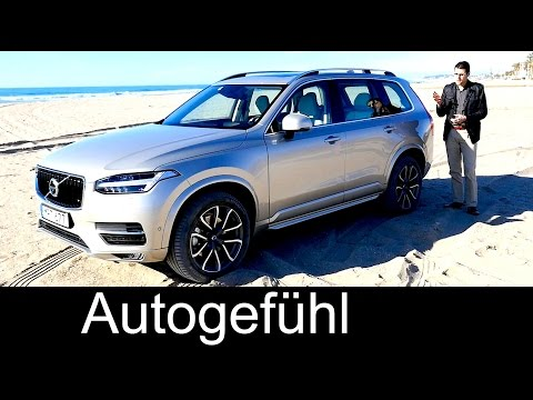 Documentary all-new Volvo XC90 2016 FULL test drive REVIEW T8 & T6 Inscription D5 Momentum