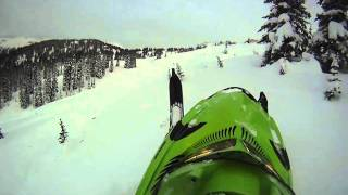 5. sledding valemount arctic cat m8 le