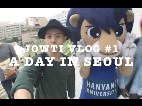 VLOG #1 ZION T | SEOUL | KOREA | HANYANG UNIVERSITY
