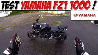 8. #MotoVlog 65 : TEST YAMAHA FZ1 / Roadster de caractère !