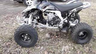 8. 2008 Kawasaki KFX450R Walk Around & Start Up!