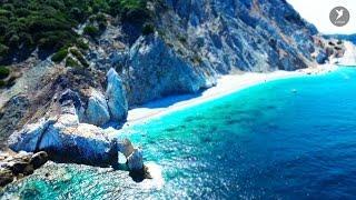Skiathos Island Greece  City pictures : Skiathos Town - Skiathos Beaches - Kastro - Lalaria - Landing on Skiathos Airport Tourism Expo TV