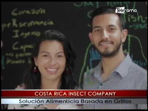 Costa Rica Insect Company solución alimenticia basada en grillos