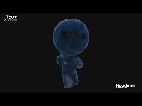 RnD demoREEL HOUDINI  3D model