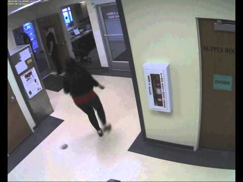 shooting - WARNING- Graphic audio and video. Cache Valley Hospital ER shooting video (Interior).