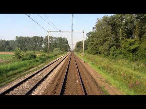 's Hertogenbosch - Cabinerit 's Hertogenbosch - Tilburg als IC 3600 Juli 2012 vanuit een VIRM.