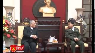 Tổng Giám mục Giáo phận Hà Nội thăm và chúc tết cán bộ chiến sĩ CATP