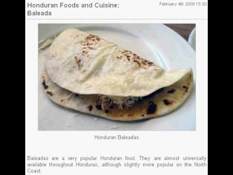 Honduran Foods and Cuisine: Baleada