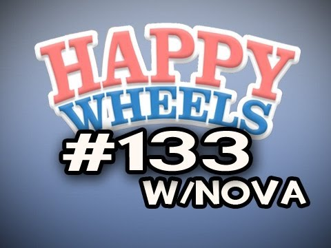 Happy Wheels w/Nova Ep.133 - Hamburger Lint Video