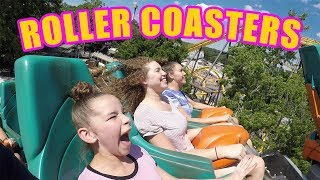 Hi Guys! This week, we went to a theme park in Atlanta to ride some super fun (and scary) roller coasters!  Have you ever been on a roller coaster like the ones we rode in the vlog?  Let us know which one is YOUR favorite in the comments below!New to our channel? Our names are Madison (17), Gracie (15), Sierra (13) and Olivia (11) and together we are the Haschak Sisters! We have been dancing all of our lives and LOVE music! We just started this YouTube channel and hope you'll join us on our journey! We love meeting new friends!Like our videos? We would LOVE to connect with you online and let you know when we upload future videos on our channel! If you like THIS video and want to help spread the word, it's easy! Simply LIKE, FAVORITE, COMMENT and SHARE this video with YOUR friends on Facebook, Twitter & Instagram! That really helps a lot! We love you!! xoxoOFFICIAL HASCHAK SISTERS LINKSHaschak Sisters Gear Storehttp://Shop.HaschakSisters.comYouTubehttp://YouTube.com/HaschakSistersFacebookhttp://Facebook.com/HaschakSistersTwitterhttp://Twitter.com/HaschakSistersInstagramhttp://Instagram.com/HaschakSisters