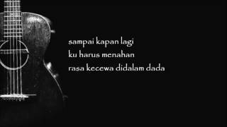 Judika - Tiada Lagi (Official Lyric Video)