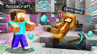 I DISGUISED as HEROBRINE To PRANK my GIRLFRIEND in MINECRAFT!