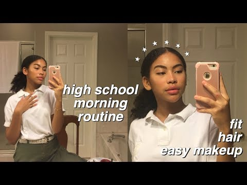 My High School Morning Routine 2019