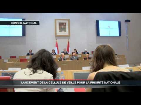 Lancement de la cellule de veille pour la priorit nationale