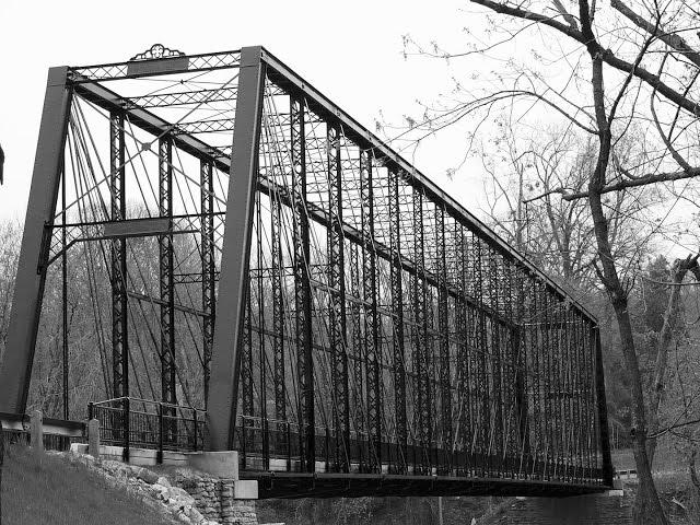 The  Triple  Whipple  Bridge,  Dearborn  County,  Indiana
