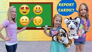 Video Addy and Maya Earn Extra Credit at Fake Toy School !!! MP3, 3GP, MP4, WEBM, AVI, FLV Desember 2018